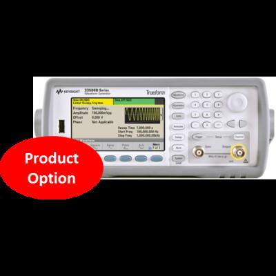 33522B-A6J Certificate of calibration - ANSI/NCSL Z540, printed