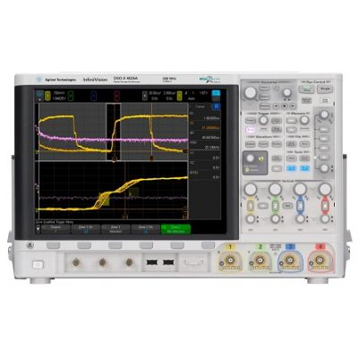 MSOX4034A Mixed Signal Oscilloscope: 350 MHz, 4 Analog Plus 16 Digital Channels