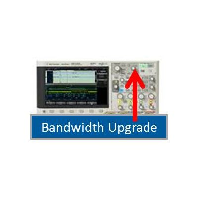 DSOX4B3T104U Bandwidth upgrade - from 350 MHz to 1 GHz on 4000 X-Series - 4 channel models