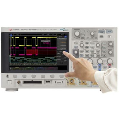 MSOX3104T Mixed Signal Oscilloscope: 1 GHz, 4 Analog Plus 16 Digital Channels