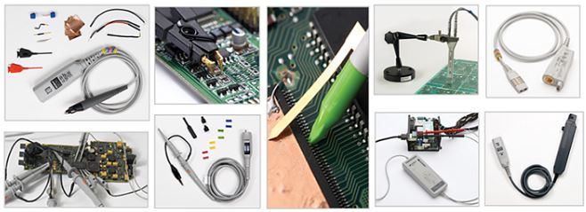 keysight oscilloscope accessories